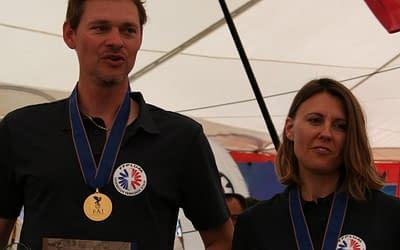 Champions du monde de paramoteur