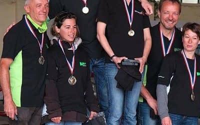 Christelle et Fabrice BREUZARD Champions de France de paramoteur